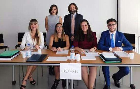 Excelente actuación del equipo de la UCA en el Concurso de Simulación Judicial de La Haya