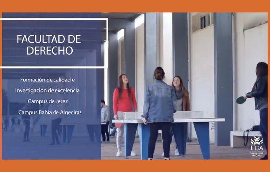 Vídeo institucional de la Facultad de Derecho