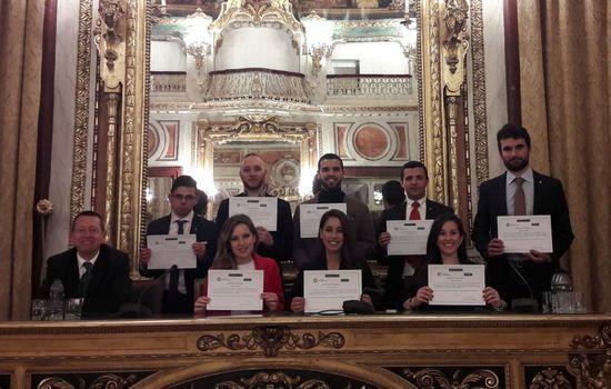 Premio para el equipo MOOT Madrid 2018