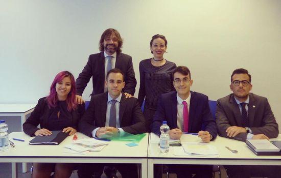 Nuevo éxito del equipo de la Universidad de Cádiz en el Concurso de Simulación Judicial de la Corte Penal Internacional