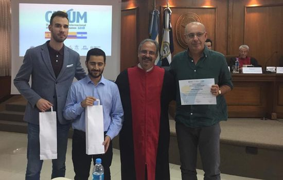Premios para el equipo de la Facultad de Derecho de la Universidad de Cádiz participante en el Concurso Internacional de Derechos Humanos Cuyum 2018