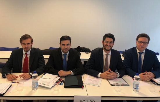 Fantásticos resultados del equipo de la Facultad de Derecho de la Universidad de Cádiz en el Concurso de Simulación Judicial ante la Corte Penal Internacional