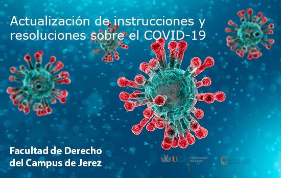 IMG Actualización de instrucciones y resoluciones sobre el COVID-19
